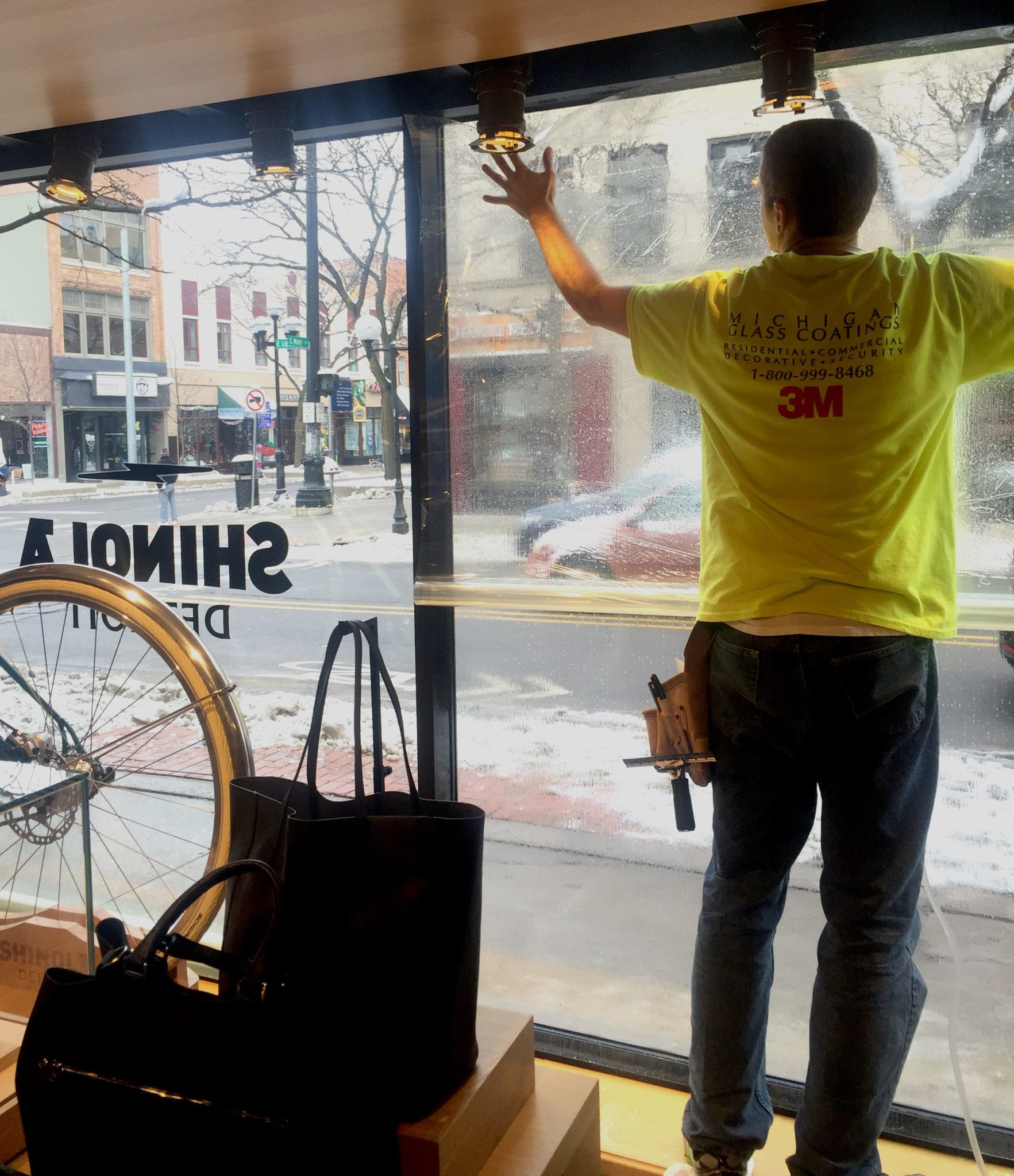 Shinola Gets Safety and security Window Film