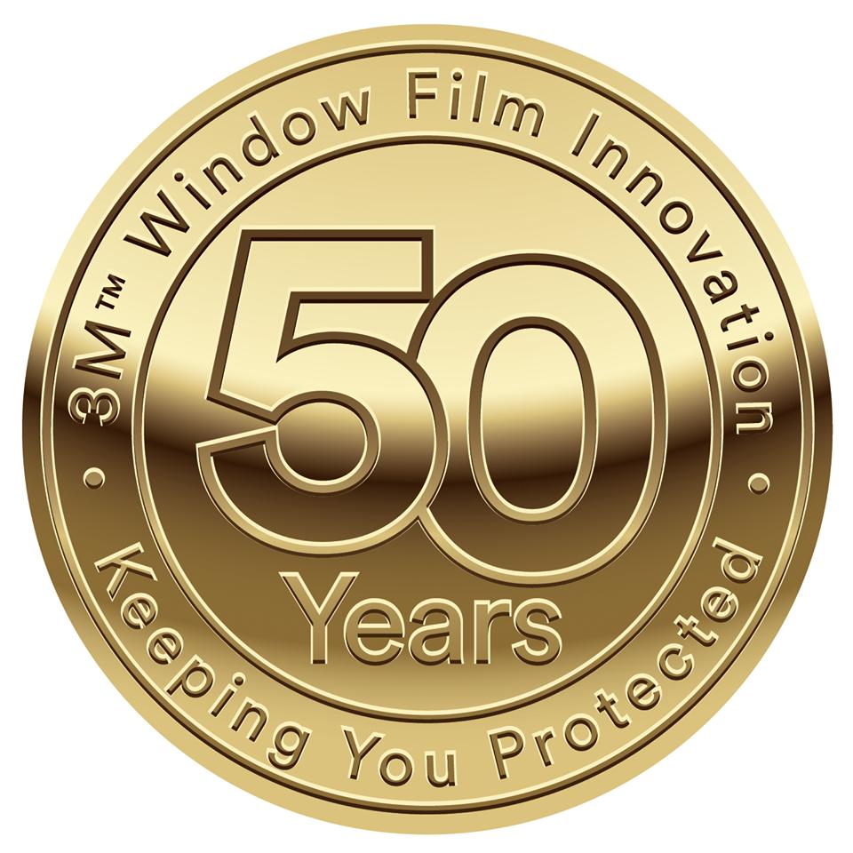 50 Year Anniversary of 3M Window Films