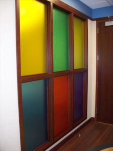 Decorative Glass Paneling
