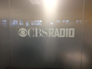 CBS Radio Decorative Window Film