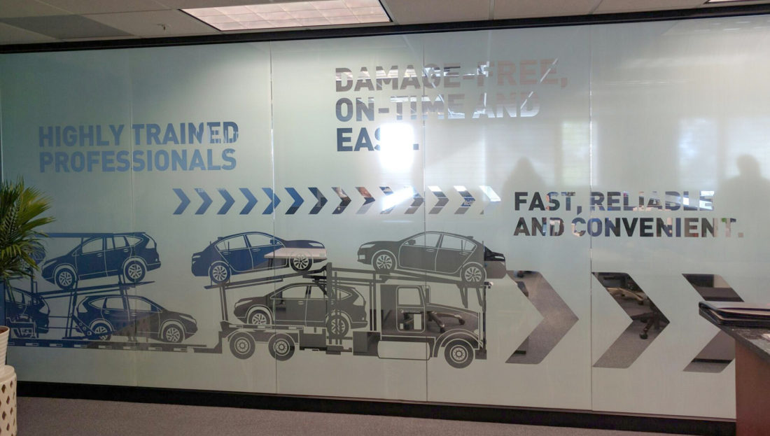 Custom Decorative Film for Trucking Client in Metro Detroit