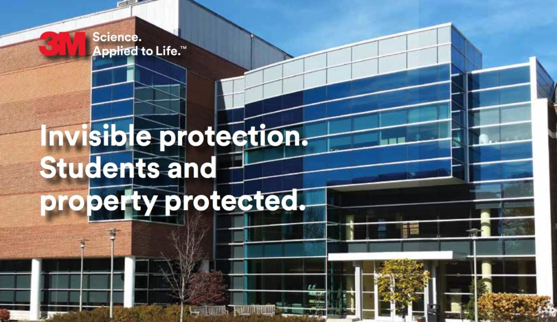 Invisible Protection for Students and Property with 3M Window Film