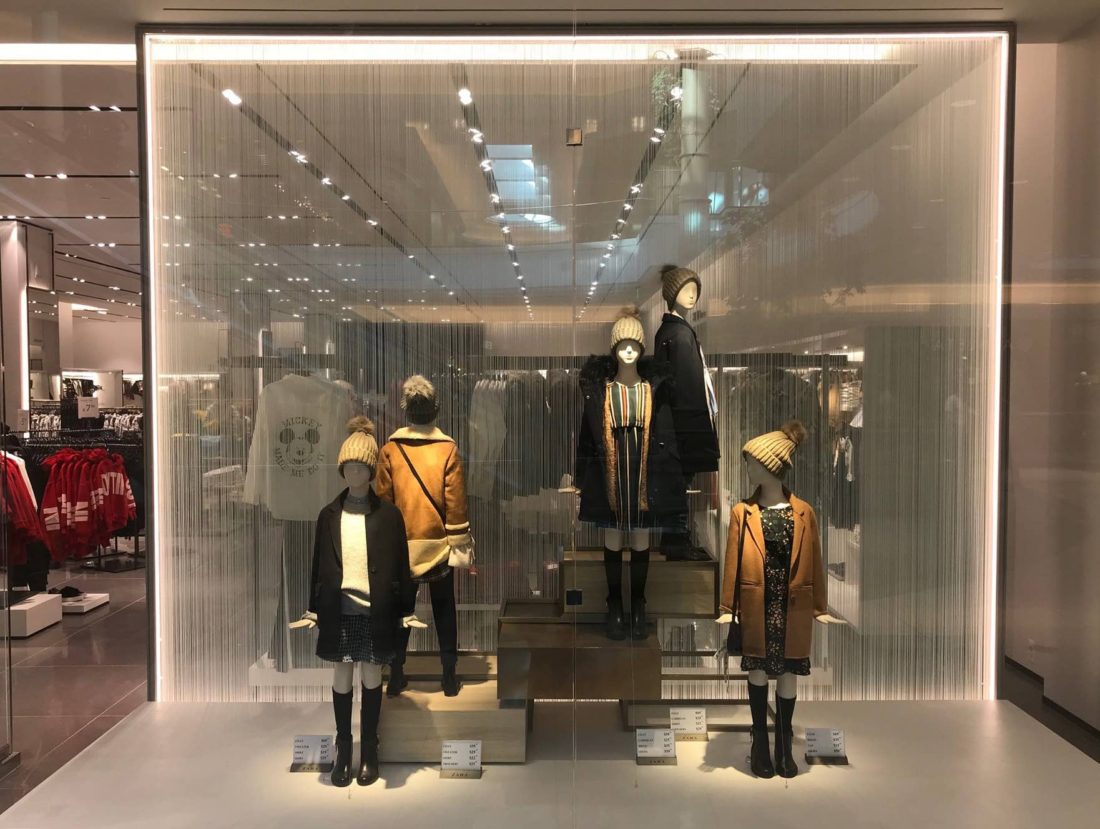 Zara Store in Somerset Mall Adds Visual Appeal with Custom Decorative Film 2
