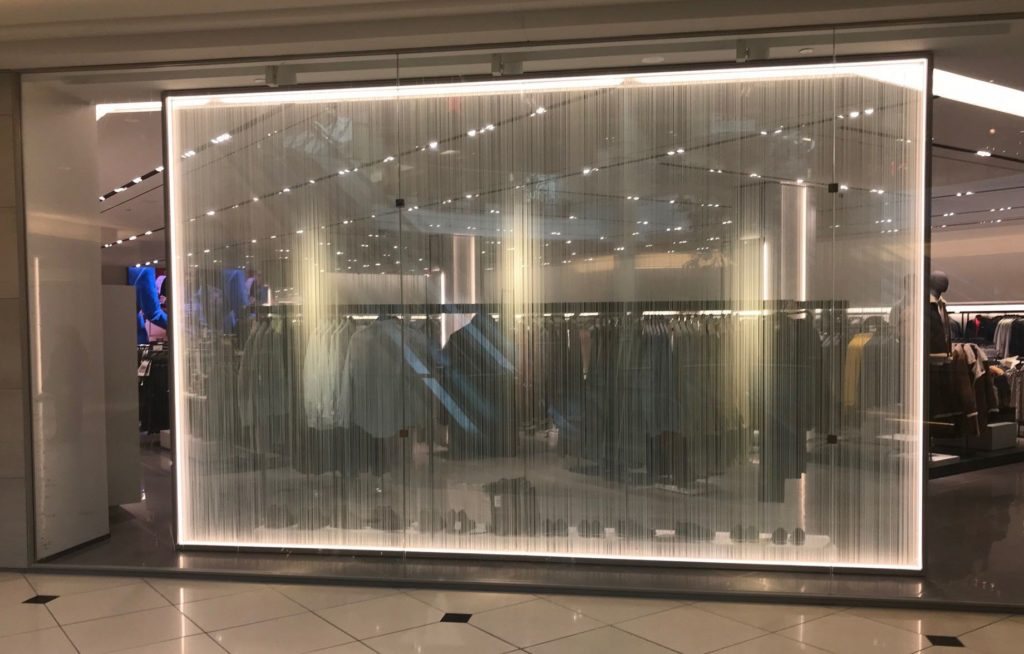 Zara Store in Somerset Mall Adds Visual Appeal with Custom Decorative Film