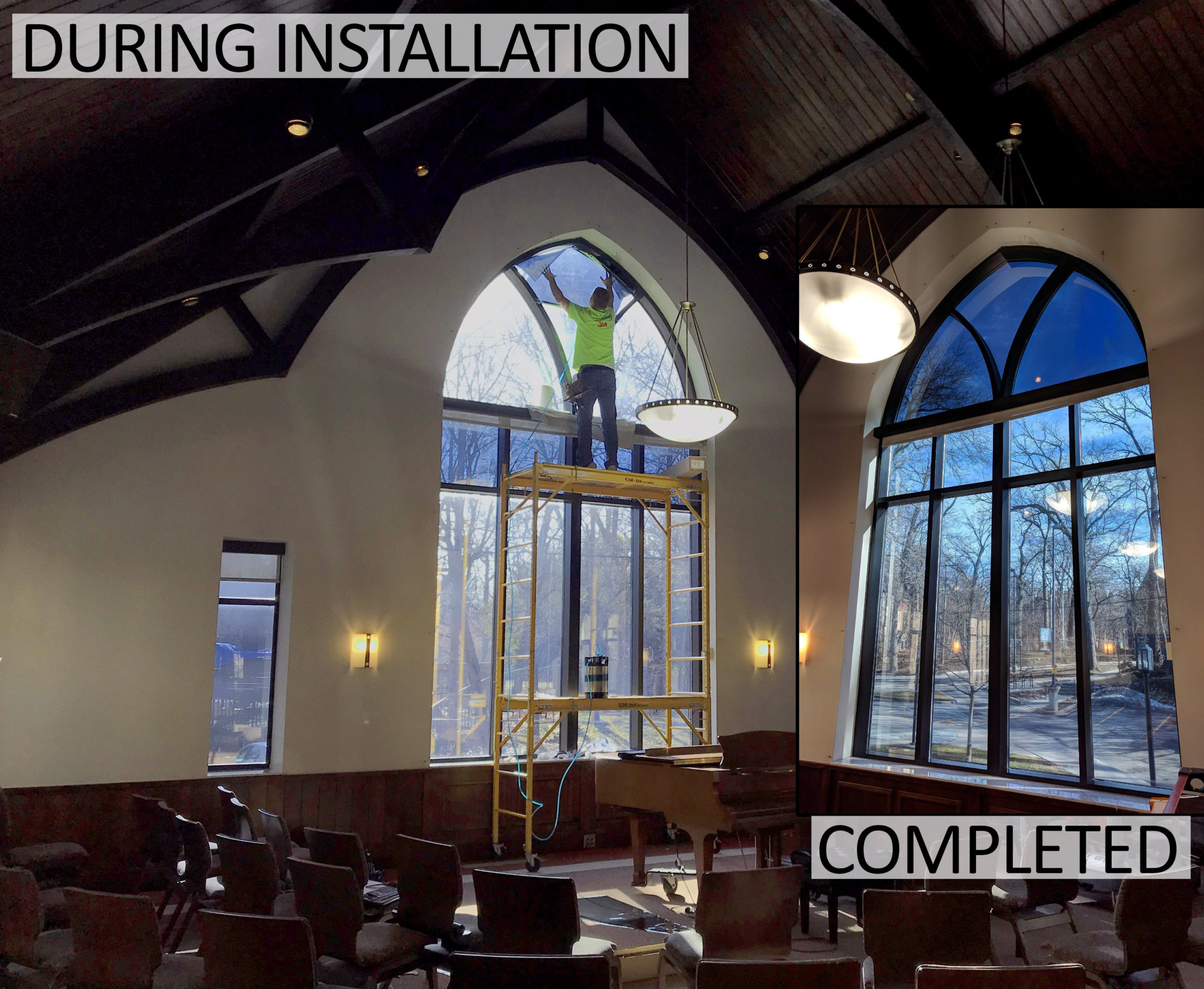 Beautiful Church in Ann Arbor, Michigan Gets a Window Film Upgrade