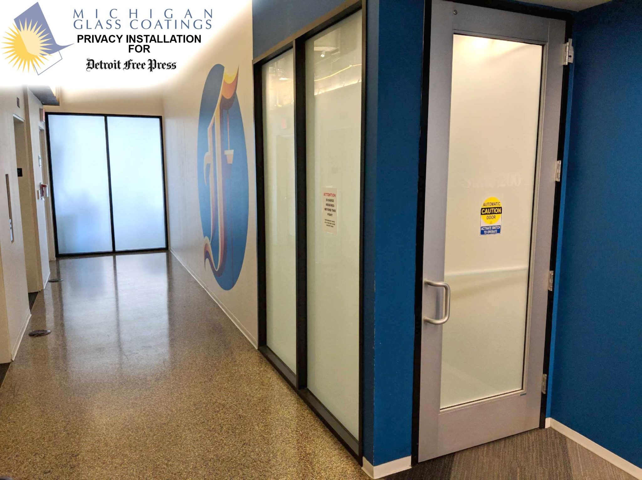 Decorative Glass Coating : Michigan glass coatings window tinting greater detroit